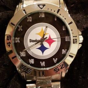 Jewelry - NWOT Pittsburgh Steelers Watch